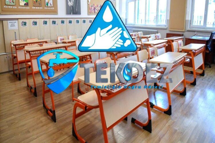 Okul Su Deposu Temizliği